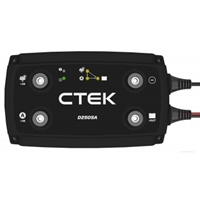 Picture of CTek D250SA advanced DC-DC charger, installed in Mobi Lodge
