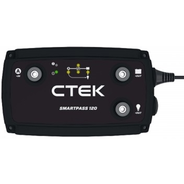 Picture of CTek Smartpass 120 advanced controlled, installed in Mobi Lodge