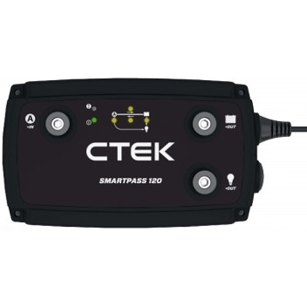 Picture of Copy of CTek Smartpass 120 advanced controlled, installed in Mobi Lodge