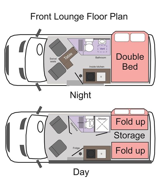 Picture of Cheetah Front Lounge Floor Plan